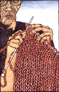 Knitting Her Fear